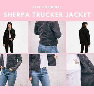LEVI'S Original Sherpa Trucker Jacket in Black - S
